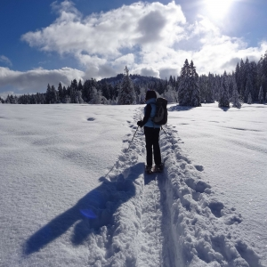 discovering trentino with the ciaspole
