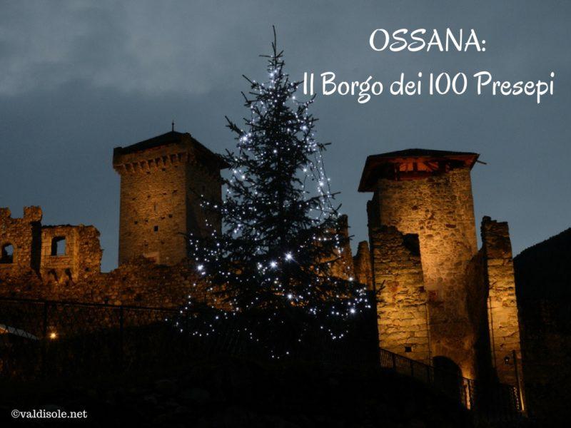 Ossana, il Borgo dei 100 Presepi